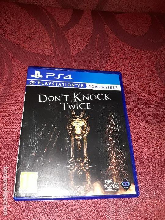 DON´T KNOCK TWICE COMPATIBLE VR PS4 COMO NUEVO PLAYSTATION 4 PLAY STATION segunda mano