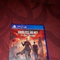 Videojuegos y Consolas PS4: SHERLOCK HOLMES THE DEVIL´S DAUGHTER PS4 COMO NUEVO PLAYSTATION 4 PLAY STATION. Lote 217959947