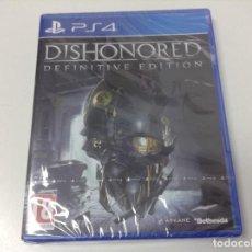 Videojuegos y Consolas PS4: DISHONORED DEFINITIVE EDITION. Lote 151522030