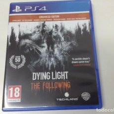 Videojuegos y Consolas PS4: DYING LIGHT THE FOLLOWING ENHANCED EDITION. Lote 151546142