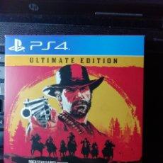 Videojuegos y Consolas PS4: RED DEAD REDEMPTION 2 ULTIMATE EDITION. Lote 151568886