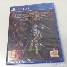 Videojuegos y Consolas PS4: SWORD ART ONLINE FATAL BULLET. Lote 151625046