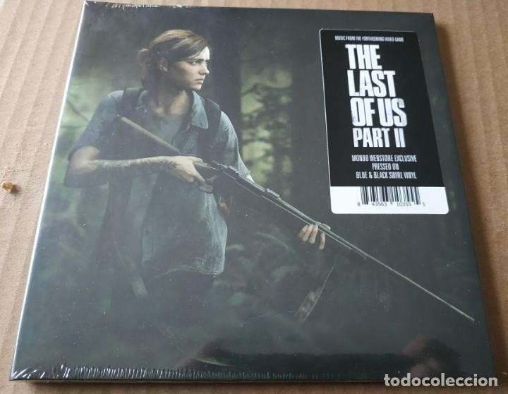 THE LAST OF US PART II VINYL EXCLUSIVE LIMITED EDITION PRESSING COLOR AZUL (Juguetes - Videojuegos y Consolas - Sony - PS4)