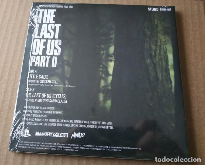 Videojuegos y Consolas PS4: THE LAST OF US PART II VINYL EXCLUSIVE LIMITED EDITION PRESSING COLOR AZUL - Foto 2 - 153340678