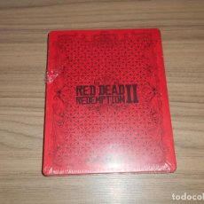 Videojuegos y Consolas PS4: RED DEAD REDEMPTION II STEELBOOCK EDICION LIMITADA CAJA METALICA PLAYSTATION 4 NUEVA PRECINTADA. Lote 153736898