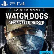 Videojuegos y Consolas PS4: WATCH DOGS COMPLETE EDITION - PS4 - PRECINTADO. Lote 154853922