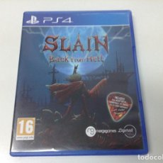 Videojuegos y Consolas PS4: SLAIN BACK FROM HELL. Lote 155287194