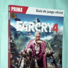 Videojuegos y Consolas PS4: FAR CRY 4 - GUIA DE JUEGO OFICIAL FARCRY 4 - PRIMA GAMES - UBISOFT. Lote 155437042