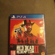 Videojuegos y Consolas PS4: RED DEAD REDEMPTION II PS4. Lote 156023878