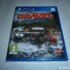 Videojuegos y Consolas PS4: GRAVEL PLAYSTATION 4 PAL NUEVO Y PRECINTADO . Lote 156080834