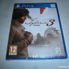 Videojuegos y Consolas PS4: SYBERIA 3 PLAYSTATION 4 PAL NUEVO Y PRECINTADO . Lote 156081358