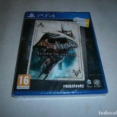 Videojuegos y Consolas PS4: BATMAN RETURN TO ARKHAM PLAYSTATION 4 PAL NUEVO Y PRECINTADO . Lote 156082514