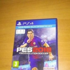 Videojuegos y Consolas PS4: PES 2018 PRO EVOLUTION SOCCER SONY PLAYSTATION 4 PS4 PAL. Lote 155235074