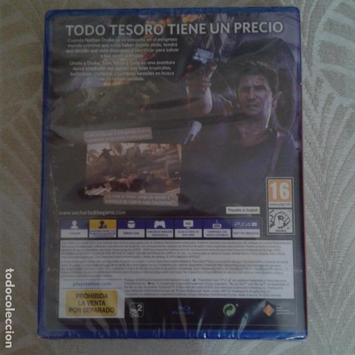 Videojuegos y Consolas PS4: Juego PS4 Uncharted Play Station sin desprecintar - Foto 2 - 158147814