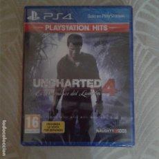 Videojuegos y Consolas PS4: JUEGO PS4 UNCHARTED PLAY STATION SIN DESPRECINTAR. Lote 158147814