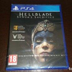Videojuegos y Consolas PS4: HELLBLADE SHENUAS SACRIFICE PS4 PAL ESPAÑA PRECINTADO JUEGAZO. Lote 158811902