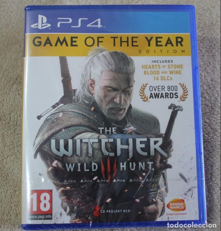 THE WITCHER WILD HUNT GAME OF THE YEAR EDITION PS4 VERSION INGLES NUEVO PRECINTADO (Juguetes - Videojuegos y Consolas - Sony - PS4)