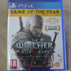 Videojuegos y Consolas PS4: THE WITCHER WILD HUNT GAME OF THE YEAR EDITION PS4 VERSION INGLES NUEVO PRECINTADO. Lote 159678970