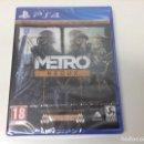 Videojuegos y Consolas PS4: METRO REDUX - METRO 2033 REDUX + METRO LAST LIGHT REDUX. Lote 160393702