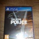 Videojuegos y Consolas PS4: PS4 THIS IS THE POLICE II PAL ESP PRECINTADO. Lote 160485606