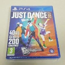 Videojuegos y Consolas PS4: 619- JUST DANCE 2017 PS4 VERSION PAL ESPAÑA NUEVO PRECINTADO. Lote 167017040