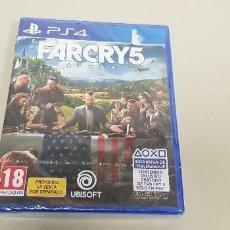 Videojuegos y Consolas PS4: 619- FAIRCRY 5 PS4 VERSION ESPAÑOLA NUEVO PRECINTADO. Lote 167018532