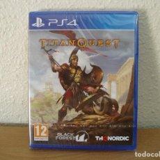 Videojuegos y Consolas PS4: TITAN QUEST SONY PLAYSTATION 4 PS4 NUEVO PRECINTADO. Lote 167942812