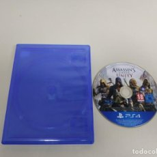 Videojuegos y Consolas PS4: 619- ASSASSINS CREED UNITY PS4 SIN MANUAL . Lote 168606952