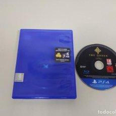 Videojuegos y Consolas PS4: 619- THE ORDER 1886 PS4 SIN MANUAL DISCO COMO NUEVO . Lote 168608496