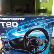 Videojuegos y Consolas PS4: CAJA VACIA THRUSTMASTER T80 RACING WHEEL PS3/PS4. Lote 172697139