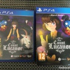 Videojuegos y Consolas PS4: JUEGO PS4 - THE COUNT LUCANOR - COMPLETO PAL ESPAÑA. Lote 173552610