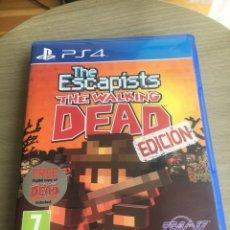 Videojuegos y Consolas PS4: JUEGO PS4 - THE ESCAPISTS WALKING DEAD PS4 - COMPLETO PAL ESPAÑA. Lote 173552787