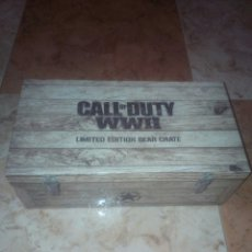 Videojuegos y Consolas PS4: CALL OF DUTY WWII LIMITED EDITION GEAR CRATE,COLECCIONISTA,COFRE,PLAYSTATION. Lote 172718360