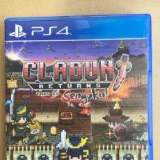 Videojuegos y Consolas PS4: JUEGO PS4 - CLADUN RETURNS - COMPLETO PAL ESPAÑA. Lote 173853424