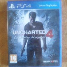Videojuegos y Consolas PS4: UNCHARTED 4 PS4. Lote 173855243