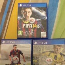 Videojuegos y Consolas PS4: TRES JUEGOS PLAY 4. Lote 174190464