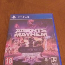 Videojuegos y Consolas PS4: AGENTS OF MAYHEM - PRECINTADO. Lote 175142924
