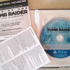 Videojuegos y Consolas PS4: RISE OF THE TOMB RAIDER - 20 YEAR CELEBRATION BOOK EDITION - SQUARE ENIX - PLAYSTATION 4 - PS4. Lote 176628174