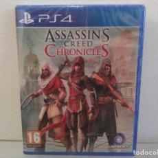 Videojuegos y Consolas PS4: ASSESSINS CREED CHRONICLES - VIDEOJUEGO PS4 A ESTRENAR (PAL ESP). Lote 177644643