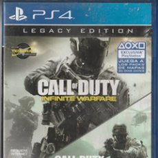 Videojuegos y Consolas PS4: CALL OF DUTTY INFINITIVE WARFARE .JUEGO PARA PS4 . Lote 177988809