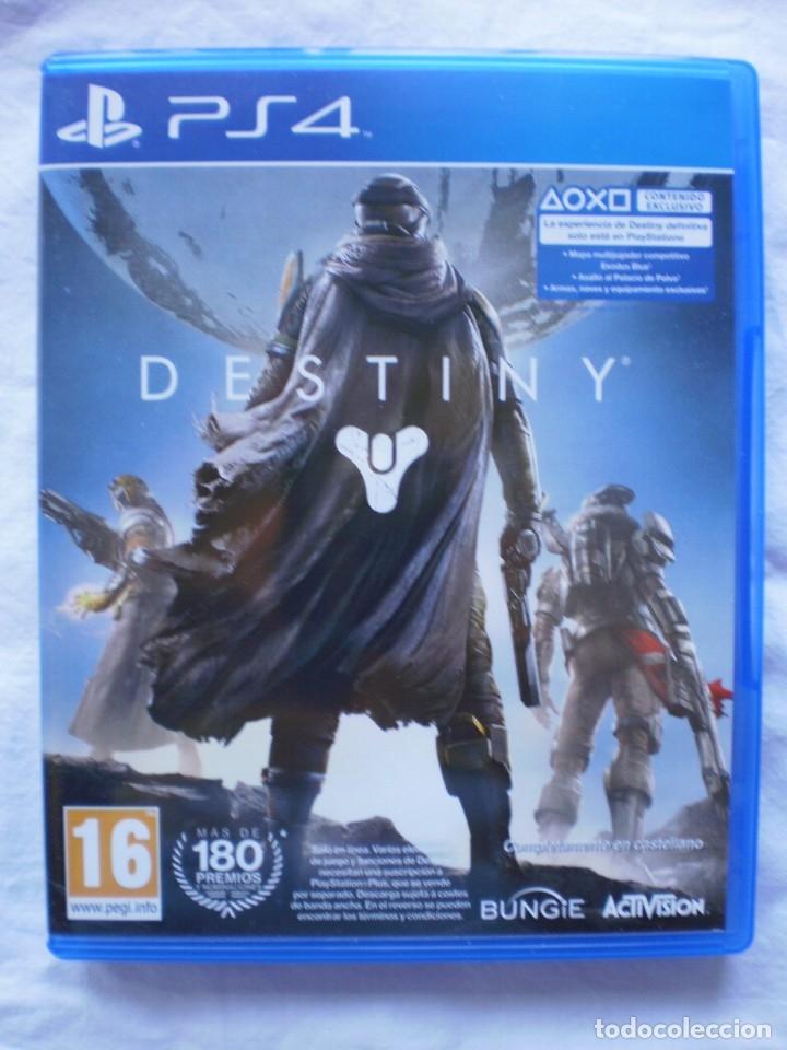 DESTINY. PS4 (Juguetes - Videojuegos y Consolas - Sony - PS4)