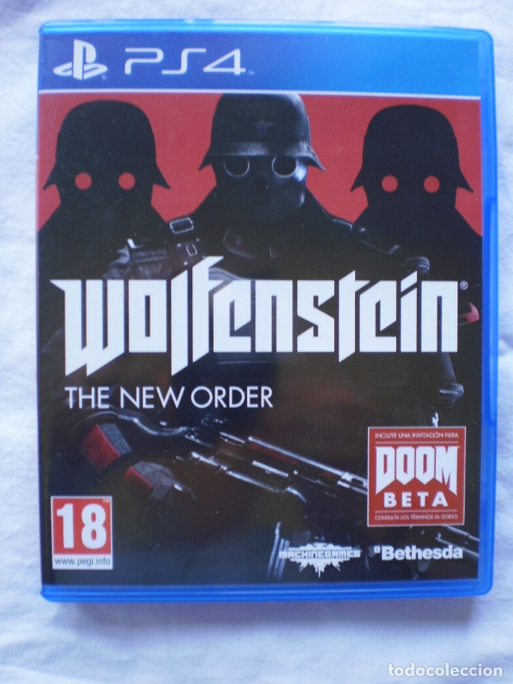 WOLFENSTEIN. THE NEW ORDER. PS4 (Juguetes - Videojuegos y Consolas - Sony - PS4)