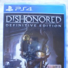 Videojuegos y Consolas PS4: DISHONORED. DEFINITIVE EDITION. PS4. Lote 178298686