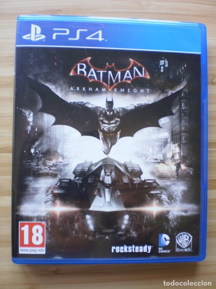 BATMAN. ARKHAM KNIGHT. PS4 (Juguetes - Videojuegos y Consolas - Sony - PS4)