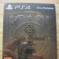 Videojuegos y Consolas PS4: THE ORDER 1886. LIMITED EDITION. PS4. Lote 178299085