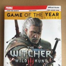 Videojuegos y Consolas PS4: GUIA PRIMA THE WITCHER 3 - 832 PÁGINAS CON DLC'S, EN INGLÉS - PS4, XBOX, NINTENDO SWITCH. Lote 179016928