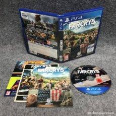 Videojuegos y Consolas PS4: FAR CRY 5 SONY PLAYSTATION 4 PS4. Lote 179344737