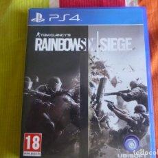 Videojuegos y Consolas PS4: PS4 RAINBOWS X SIEGE. Lote 181202517