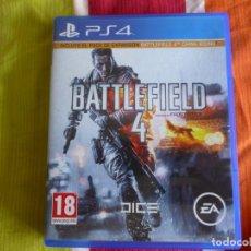 Videojuegos y Consolas PS4: PS4 BATTLEFIELD 4. Lote 181203480