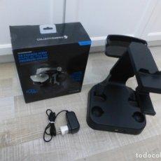 Videojuegos y Consolas PS4: VR AURICULARES SOPORTE Y CARGADOR PSVR PS4 PS VR PLAYSTATION MANDO. Lote 181204997